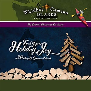 Holiday Events, Activities, and Shopping on Whidbey and Camano Islands